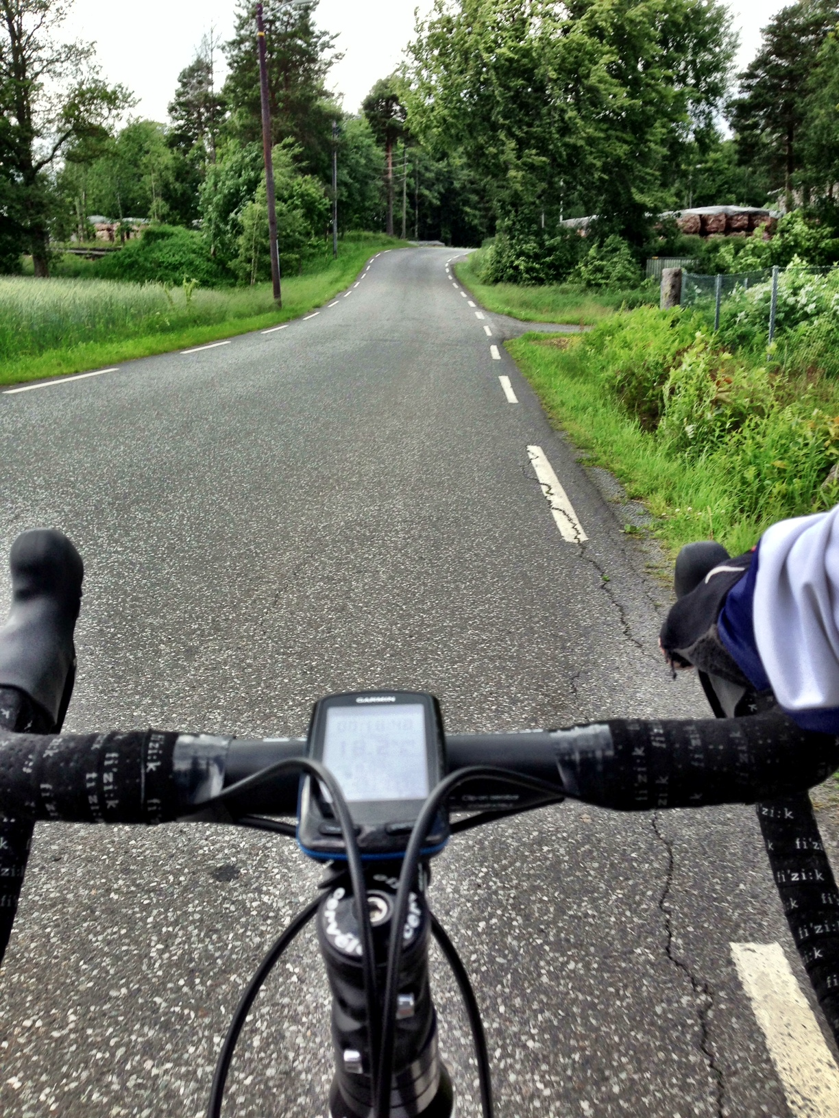 cycling around the county