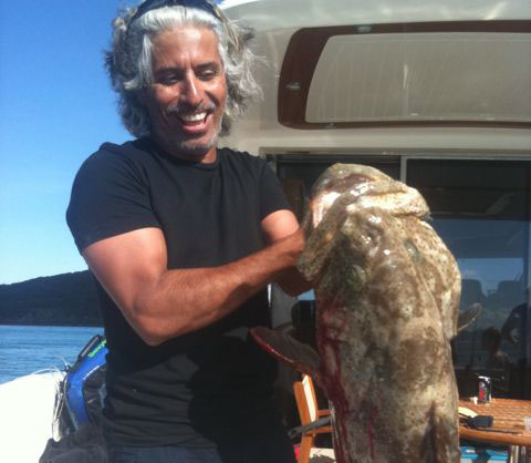 Big fish on Sheik Hassan :)