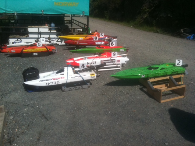 Norwegian RC boat