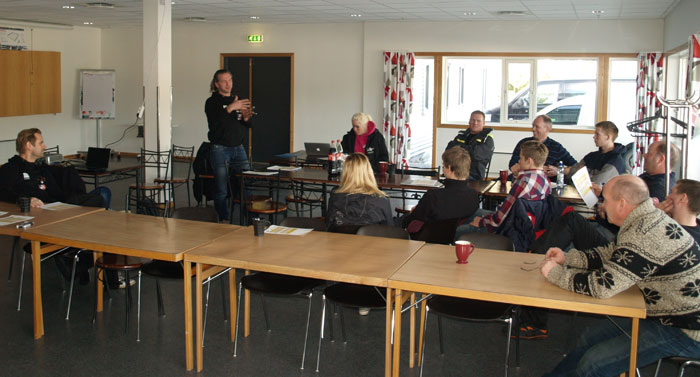 Meeting in Tvedestrand